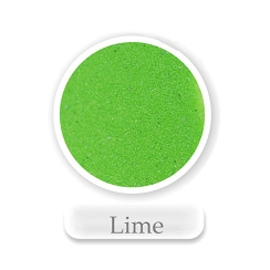 Lime Green Colored Sand