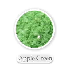 Apple Green Colored Sand