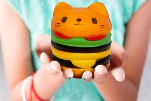 CuteyCo Squishy Toys – Kawaii Squishies for Play and Stress Relief - 11 Styles Available
