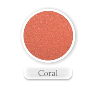 Coral Colored Sand