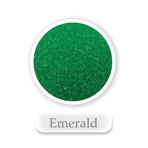 Emerald Colored Sand